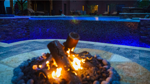 Water Feature • Fire Pit