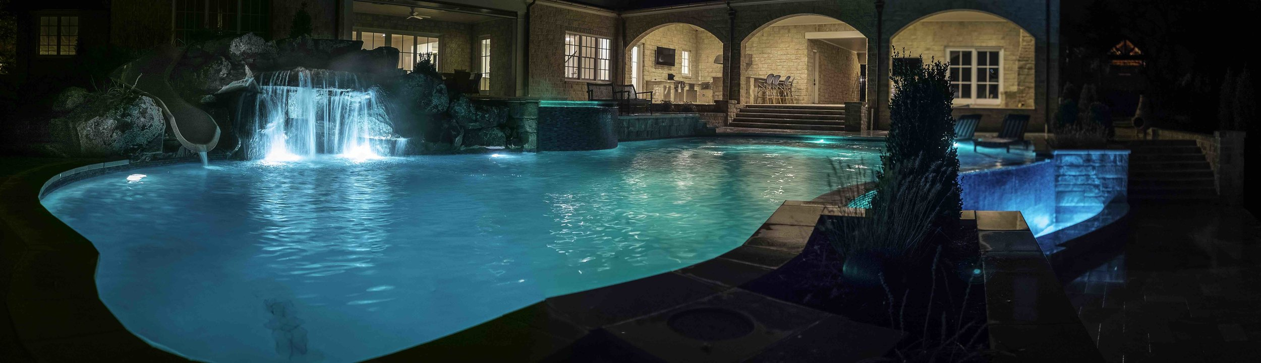 Myers Pool | Aquascape Pools | Edmond | evening | color | ANDREW G | super wide panorama | Print Ready - 07.jpg