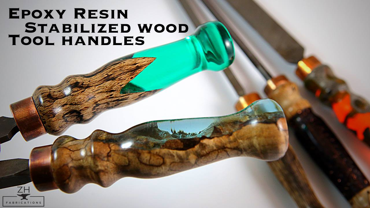 96 Epoxy River Handles Wood By Wright