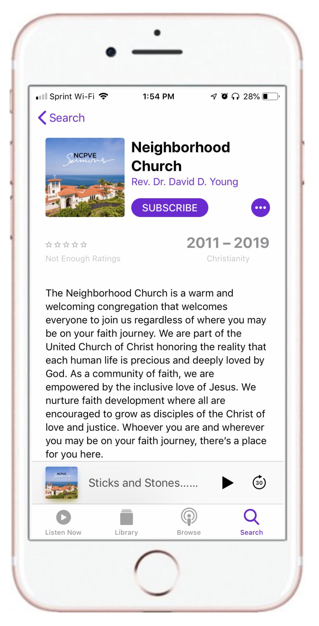 Neighborhood Stories — The Neighborhood Church