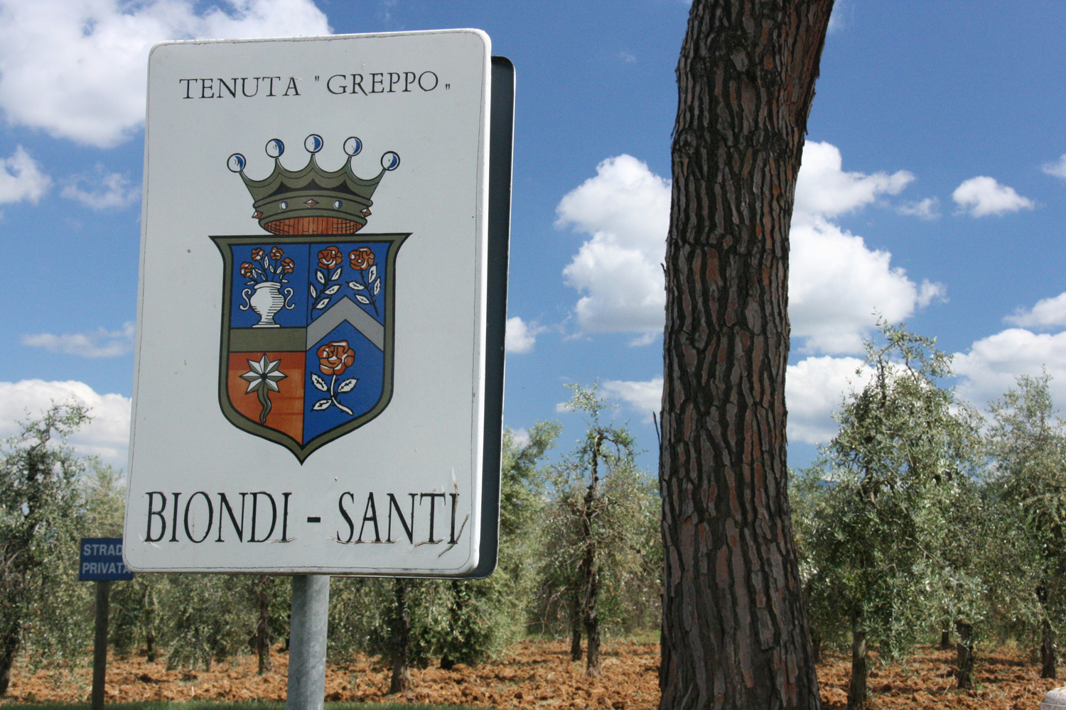 The birthplace of Brunello