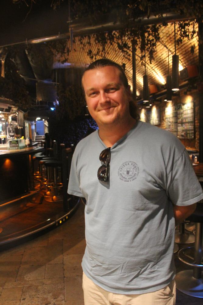 Alex Liberati of Brasserie 4:20 and Revolution Cat beer
