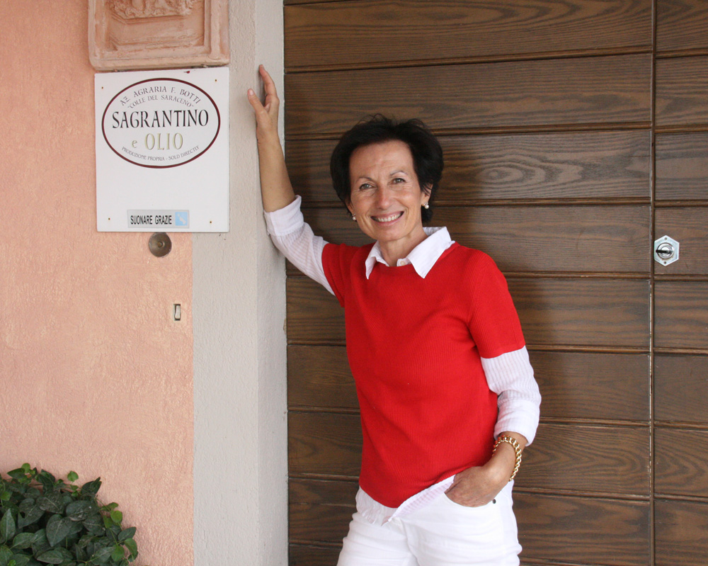 Maila Orazi, of Colle del Saraceno winery