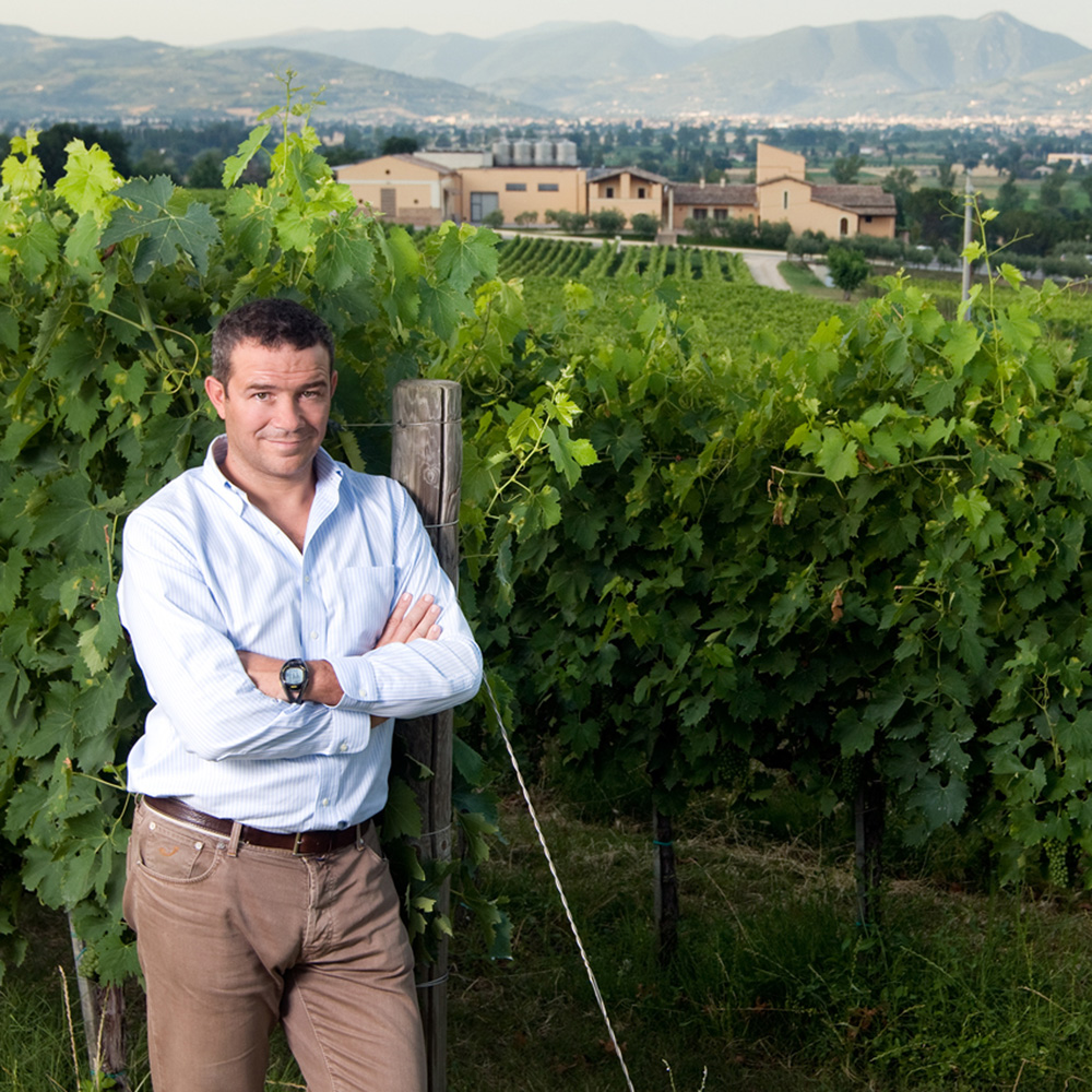 Marco Caprai, courtesy Arnaldo Caprai winery