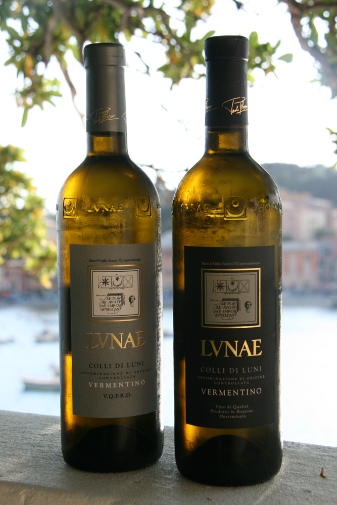 The Ligurian vermentinos from Lunae are 3 Bicchieri winners every year