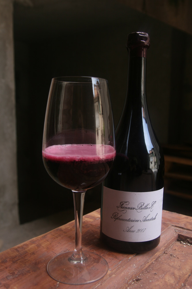 Bellei's traditional style Lambrusco