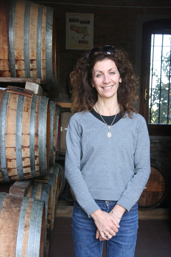 Daughter Sandra, of the Medici Ermete, another boutique producer making top-notch Lambrusco