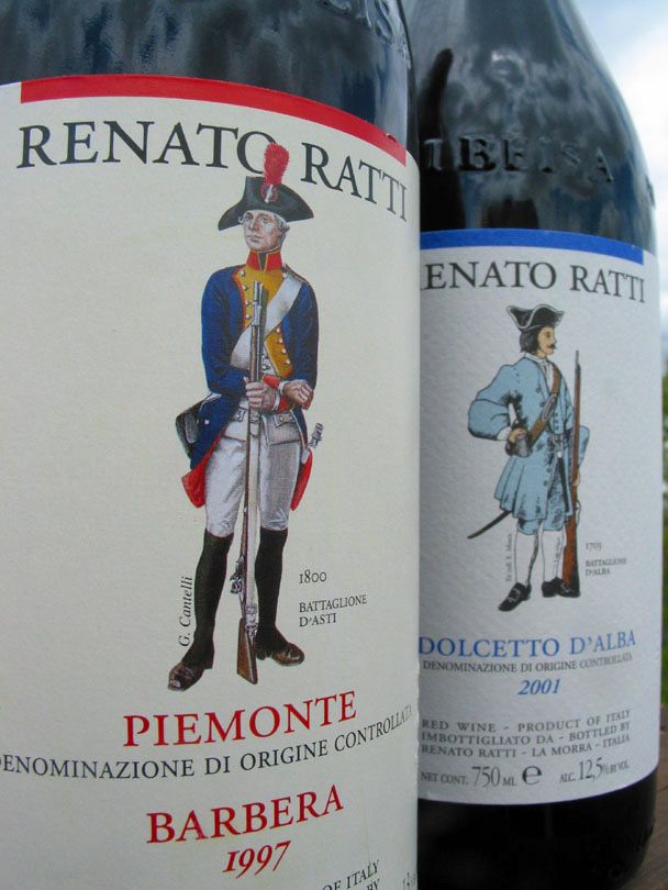 Renato Ratti's Barbera d'Alba, always a good choice