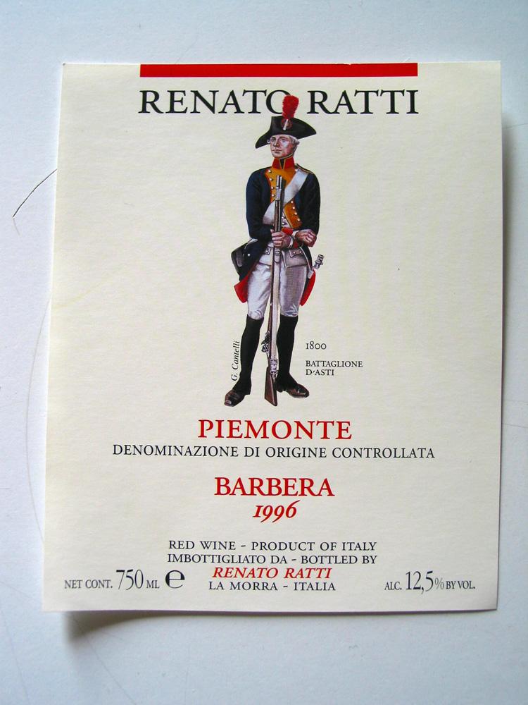 Labels preserving Piedmont's history