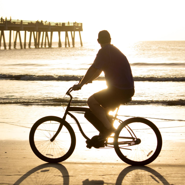 Biking Beach