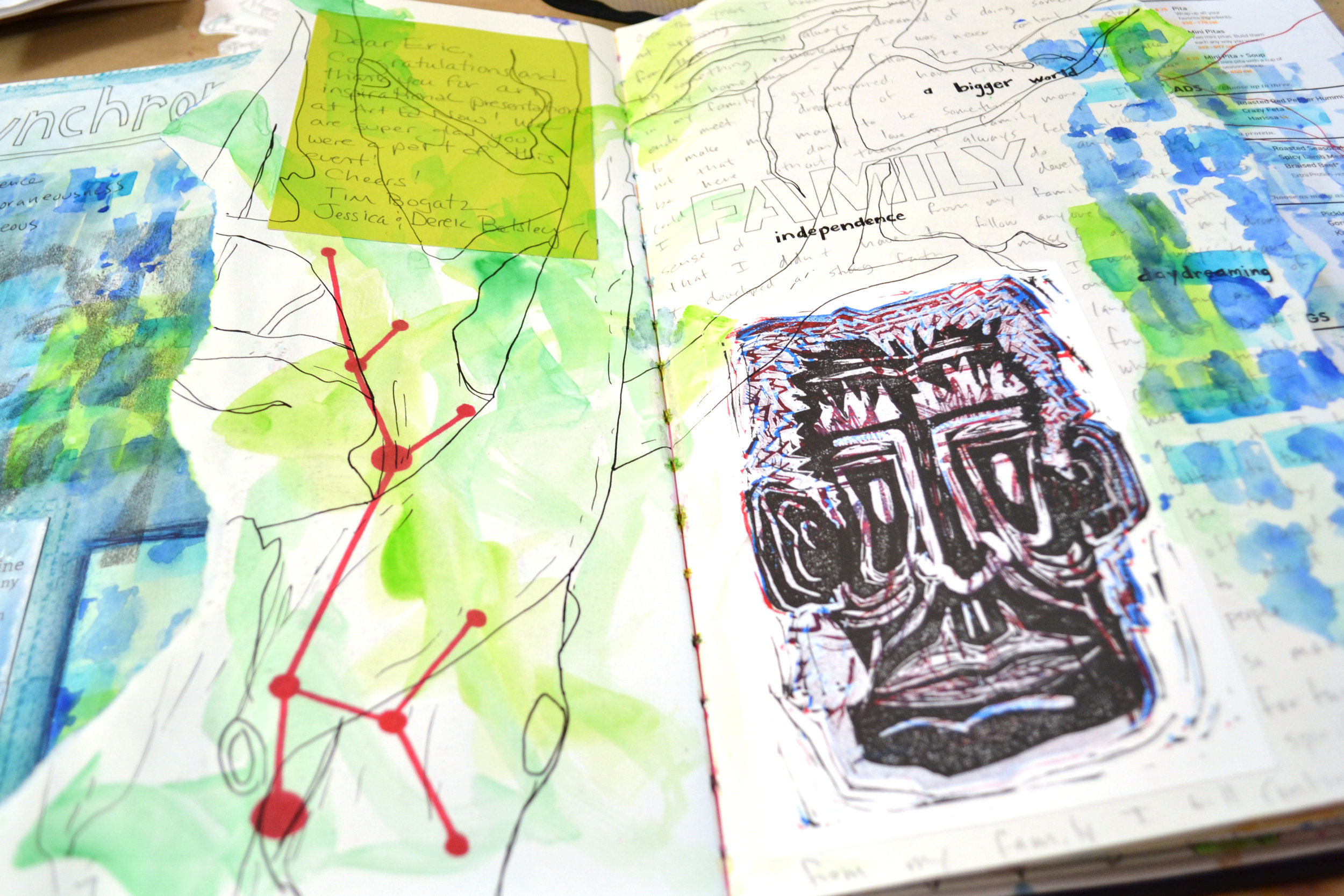 Observation Drawing: Trees