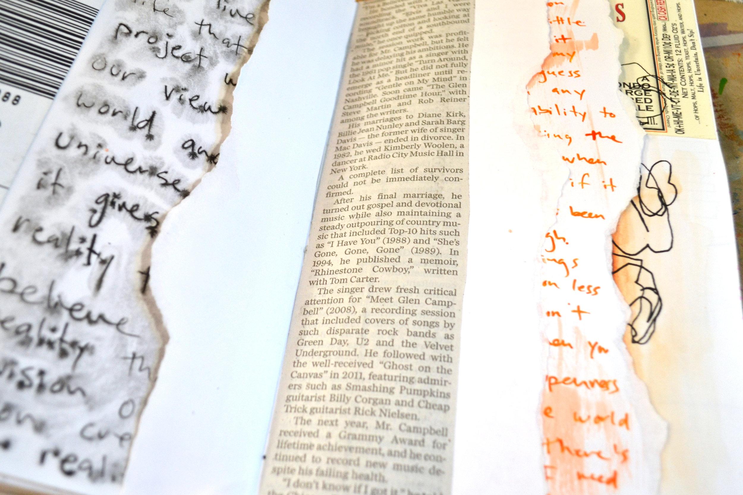 Collage: Newspaper