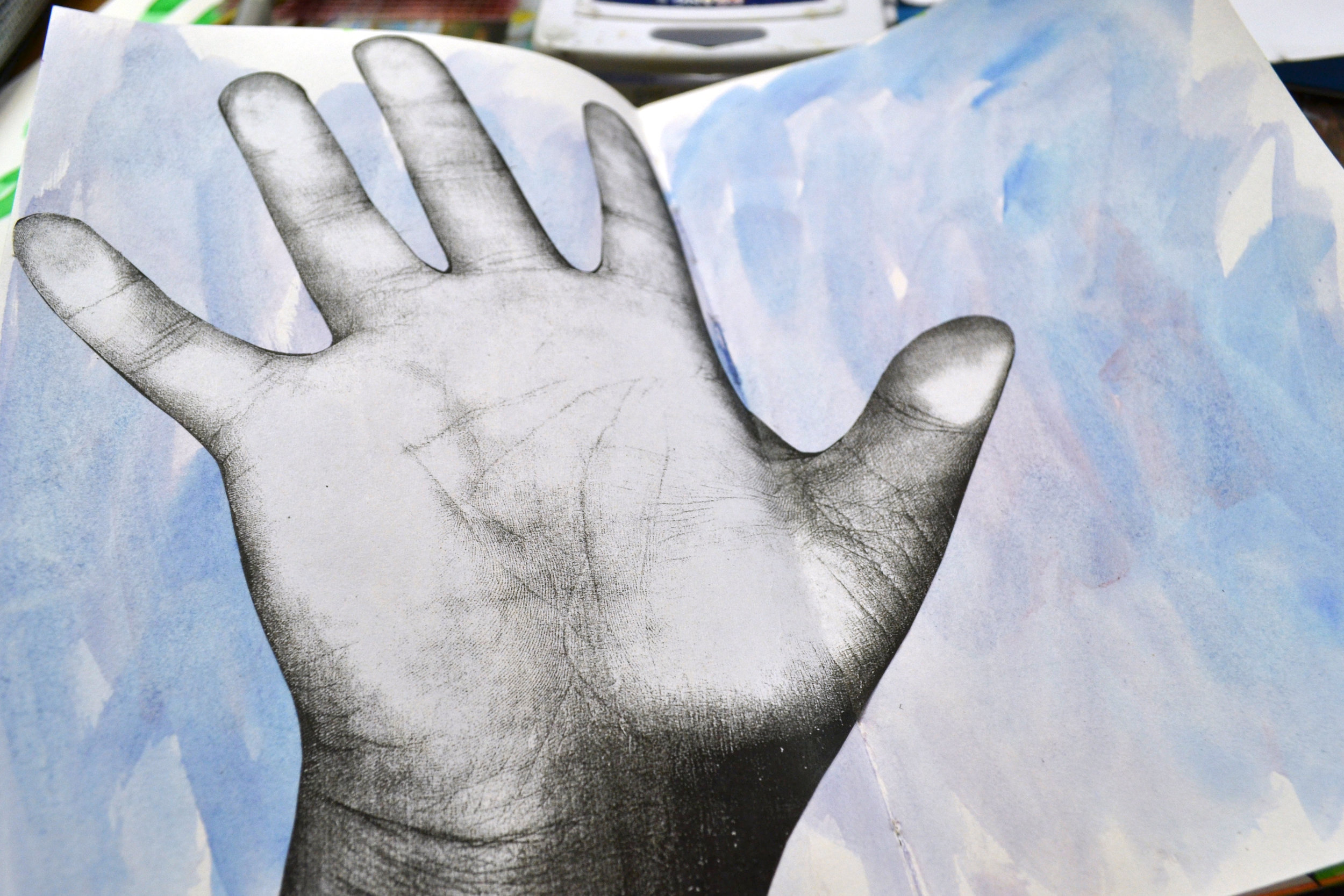 Photocopy Hands