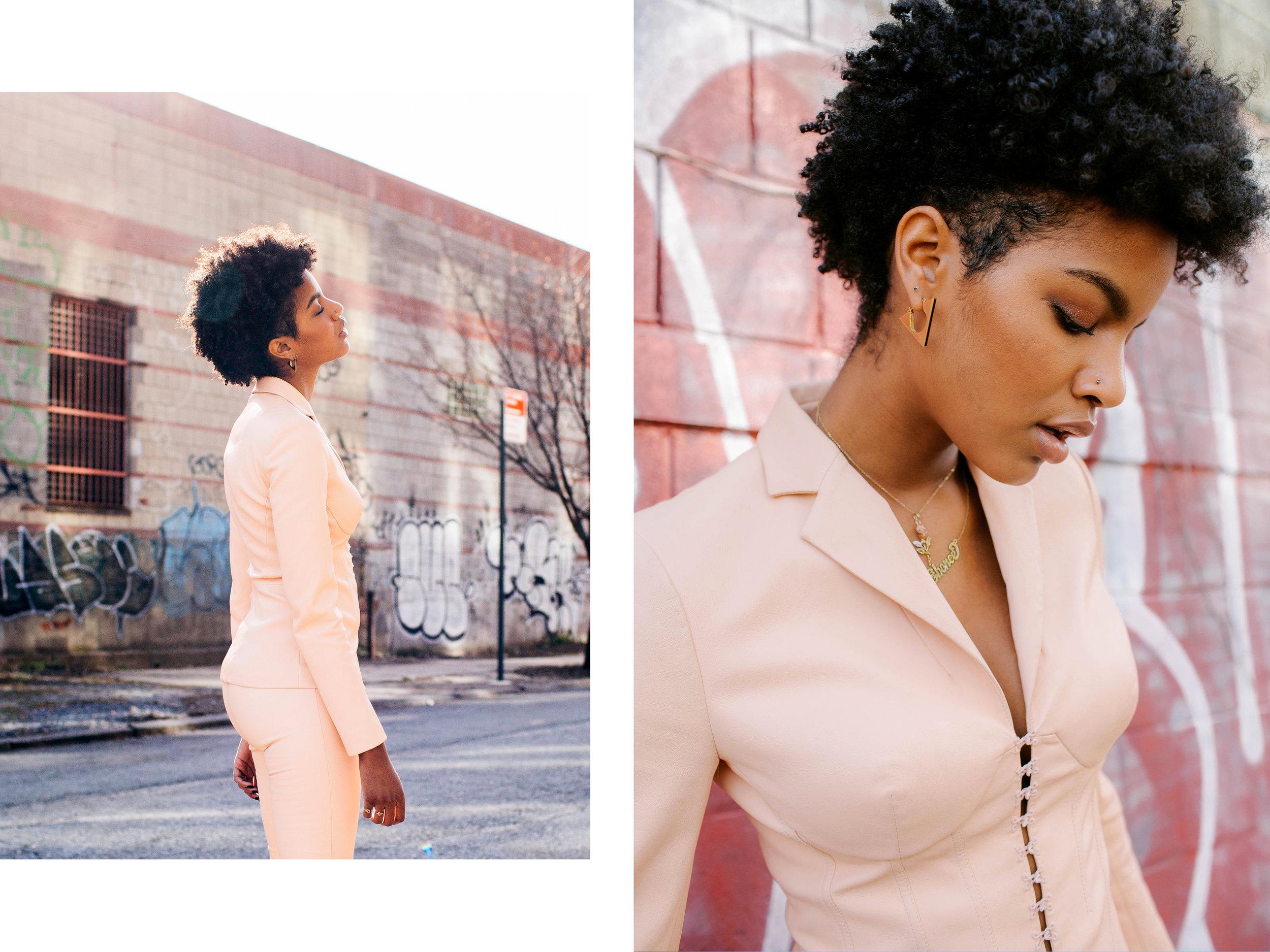 Ebonee Davis for Harper's Bazaar