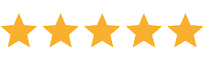 Five Star review from client