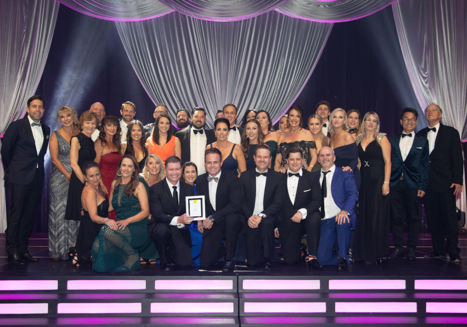 Ray White Robina team at the Ray White Queensland Awards 2019.