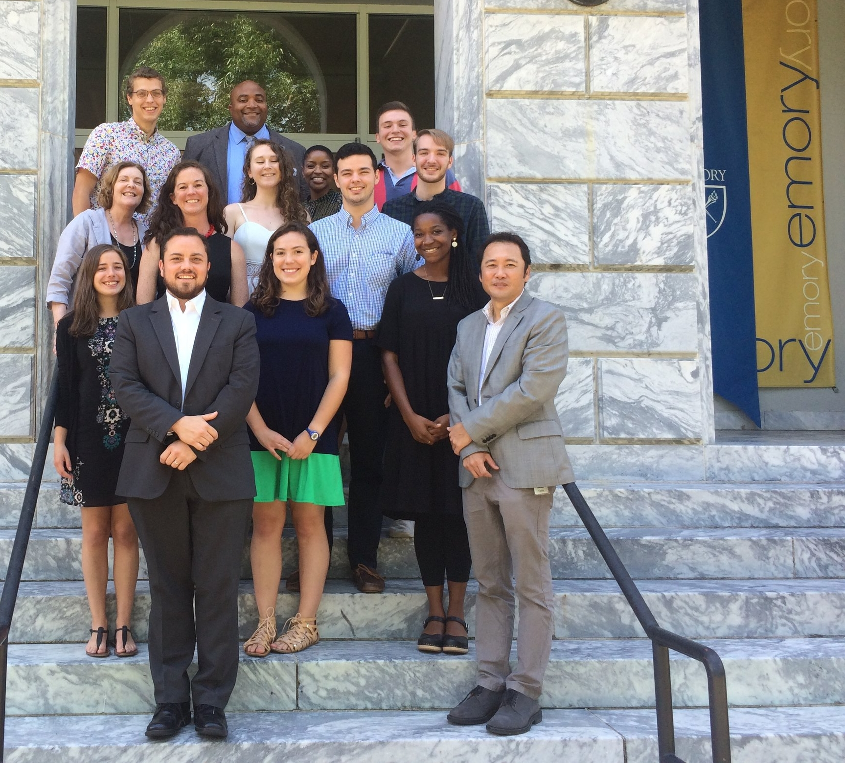 The 2018 CBSC Fellows, partners and two alumni enjoyed a luncheon hosted by Emory President Claire Sterk on July 22nd, 2018. All discussed the work of the CBSC and its' connections to both the Emory mission and the growth of new leaders. -