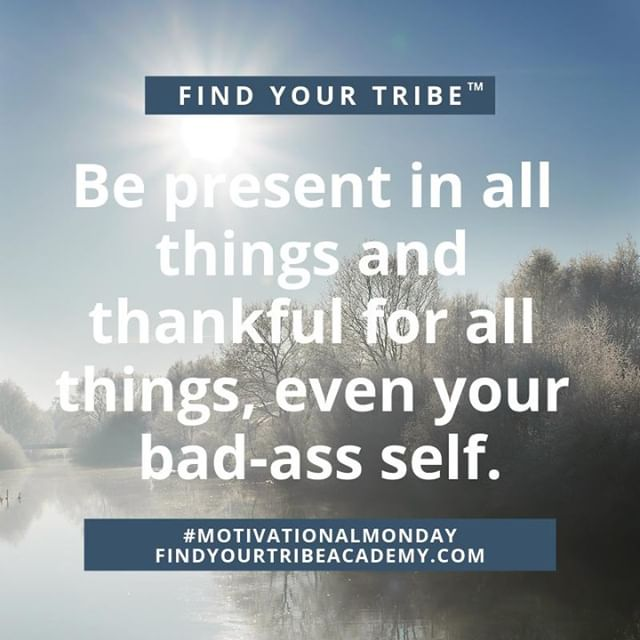 """Be present in all things and thankful for all things, even your bad-ass self."" #focus #hustle #challengeyourself⠀⠀ .⠀⠀ .⠀⠀⠀⠀ #changetheworld #growthmindset #purposedriven #motivation #purpose #entrepreneur⠀⠀⠀⠀ .⠀⠀⠀⠀ #BetheUnicorn⠀⠀⠀⠀ .⠀⠀⠀⠀ #businessconsultant #businesscoach #consultant #lgbtq #nativeramerican #businessadvisor #womenowned #cancer #cancerwarrior #cancersucks"