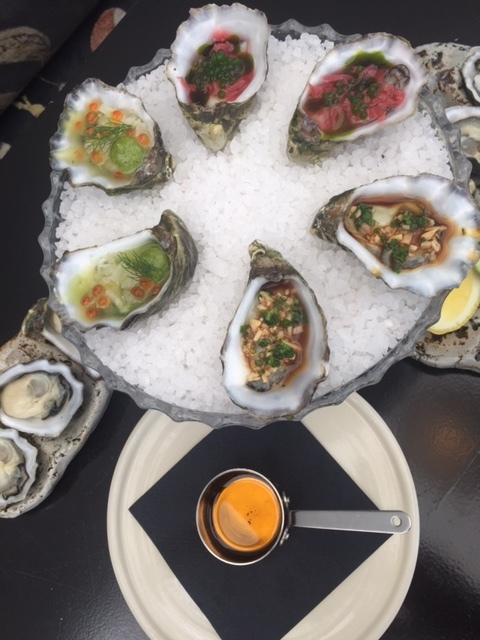 Oysters The Glass House Hobart