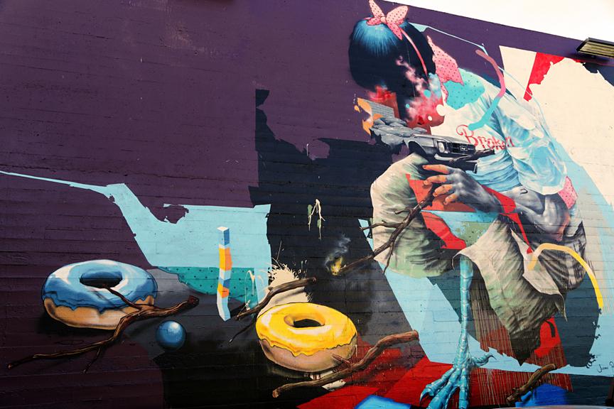 Portland Oregon Mural