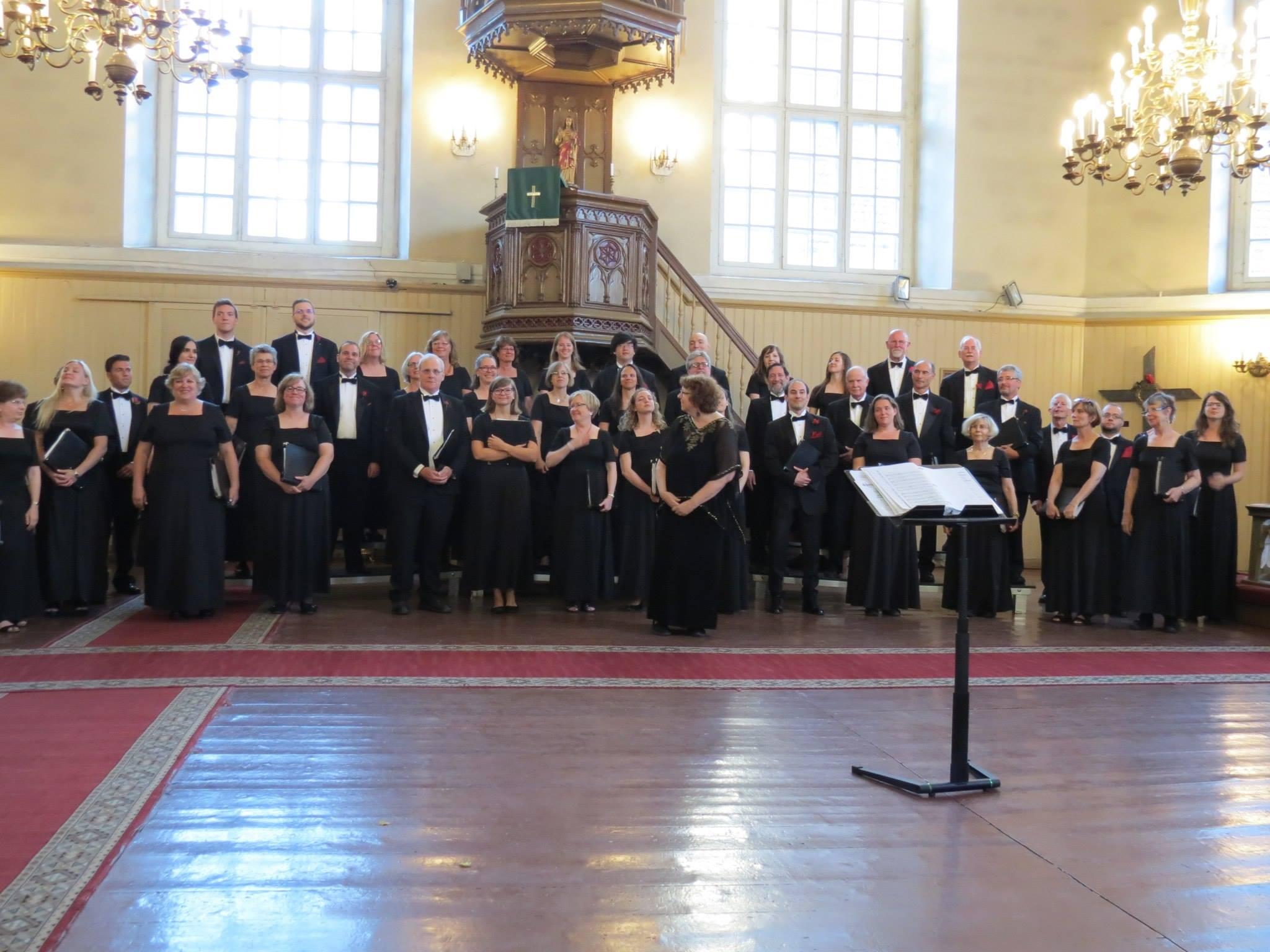 Tour choir, 2016