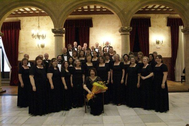 Tour choir, Spain 2009