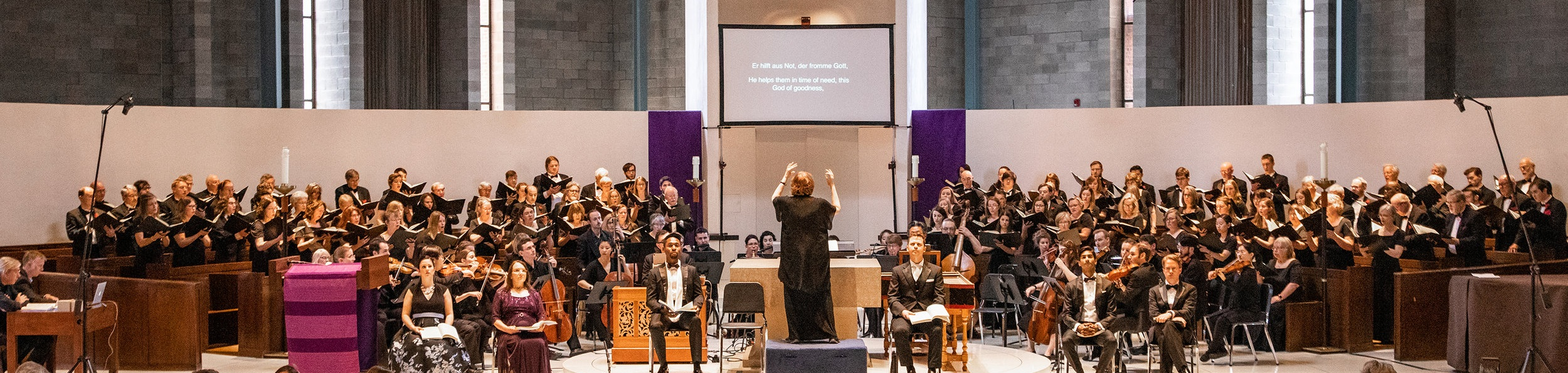 Bach St. Matthew Passion, April 2019
