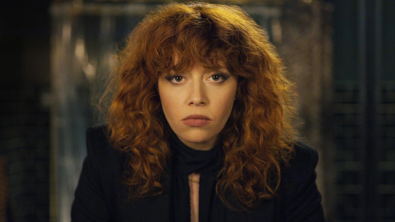 Natasha Lyonne as Nadia Vulvokoff in Russian Doll.