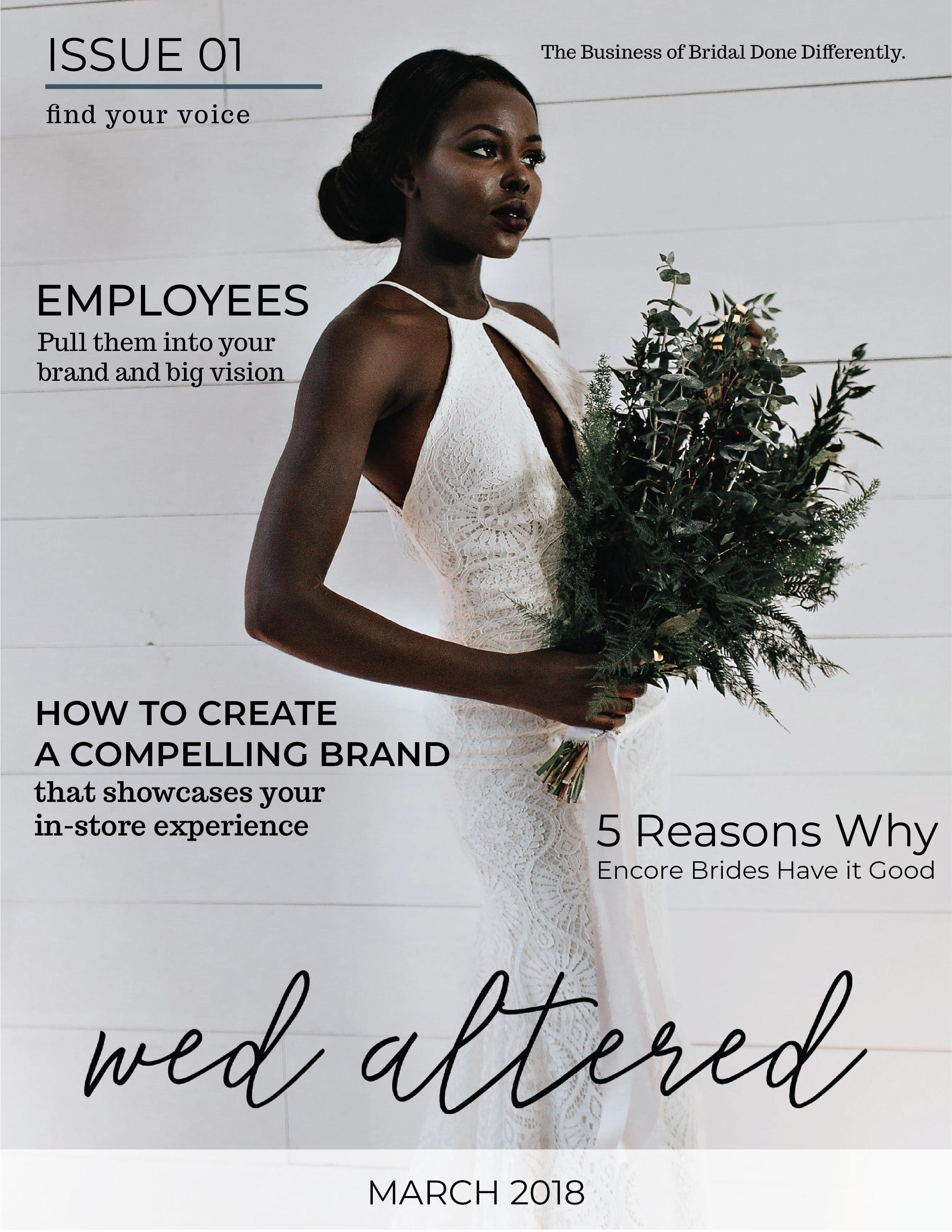 bridal wholesale market magazine wed altered