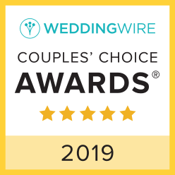 Wedding Wire's Couple's Choice Award 2019