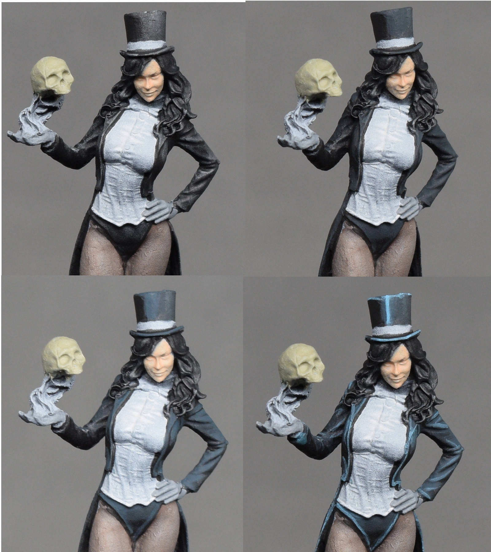 Zatanna painting tutorial