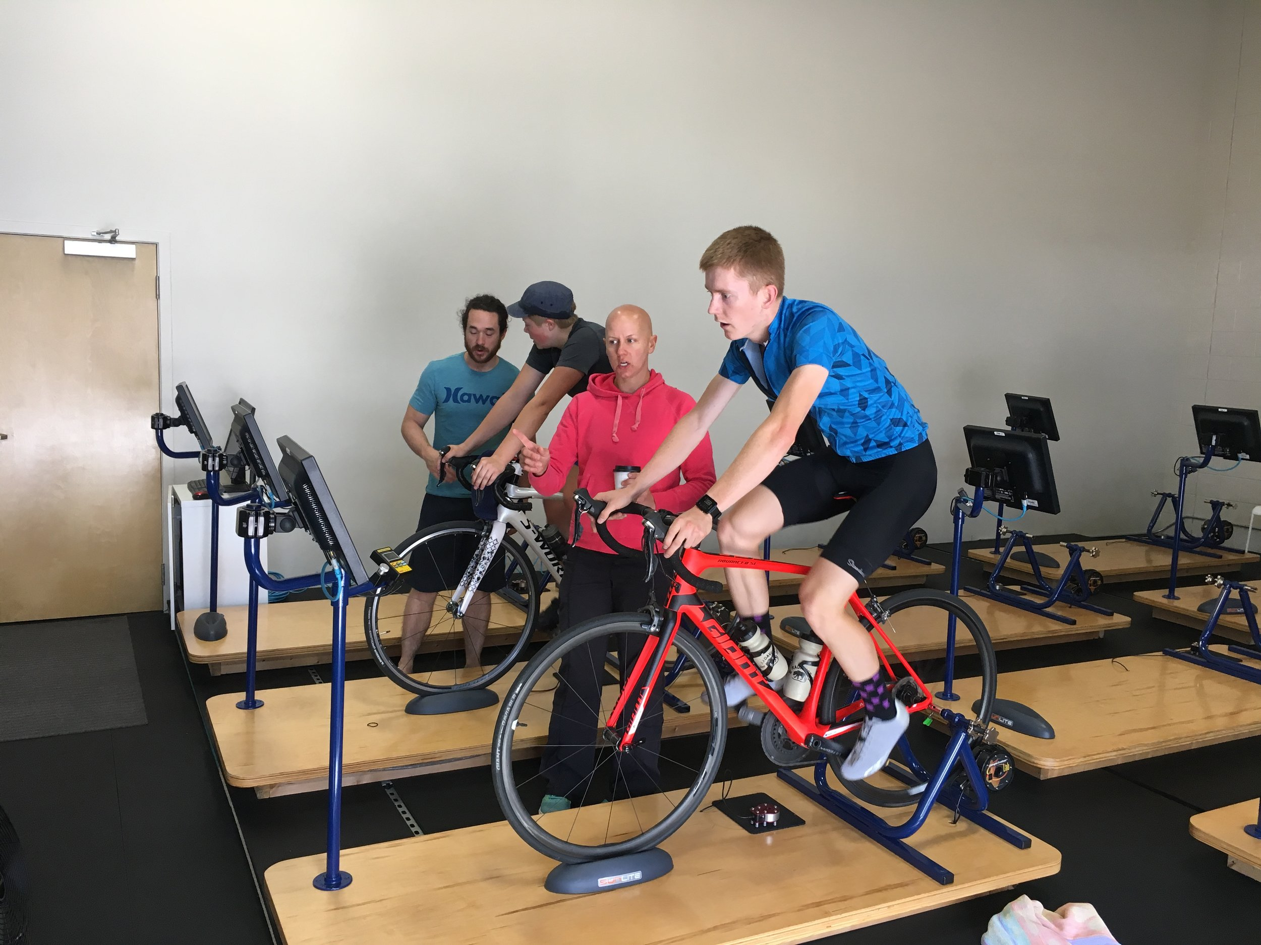 WHAT: - A one-year periodization program that includes goal-setting, full fitness assessment, nutritional support, lifestyle management strategies, activity tracking, strength training, cross-training, technique, rest/recovery, race preparation, team tactics, and lots of riding together.