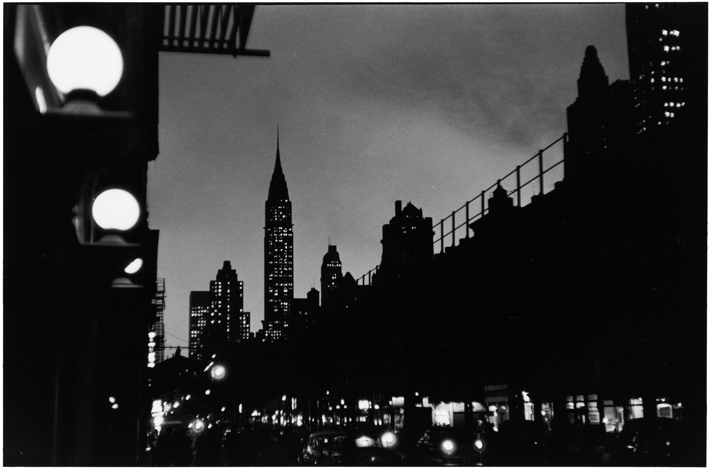 New York City, New York, USA, 1955