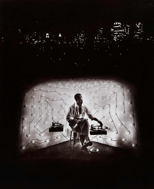 Invisible Man Retreat, Harlem, New York, 1952