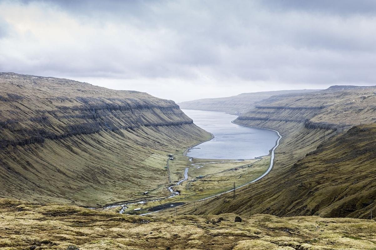 Fjord, Faroe Islands, April 2013, 2013