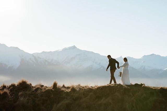 'Run away with me...' He said 'Only with you.' She said . . . 📸 @katealexandraphoto at @hideandseekelopementco . . . #sayidoinwanaka #wanakawedding #wanakaelopement #nzelopement #wanakacelebrant #nzcelebrant #destinationweddingnz #nzwedding #mountainwedding #heliwedding #lovewanaka #hideandseek #hideandfound #intimatewedding #wanakawedding #queenstowncelebrant #nzcelebrant