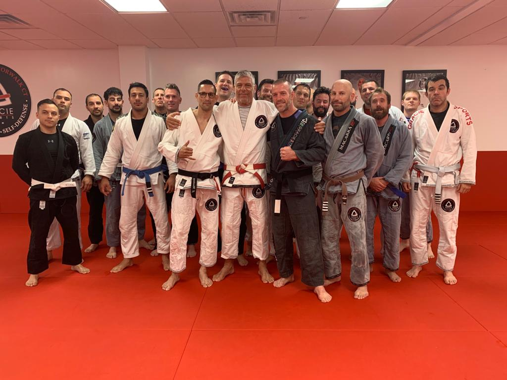 Our black belts professor Jorge and Jason got their first stripes! 3 years as black belts!