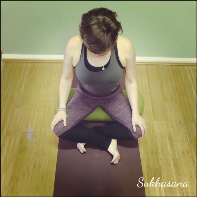 Sukhasana – Easy seated pose