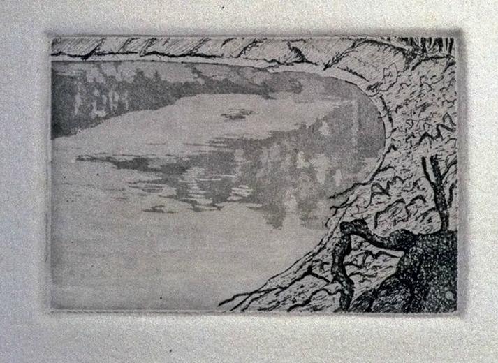 Murray Rivers Edge, 1977 (detail)