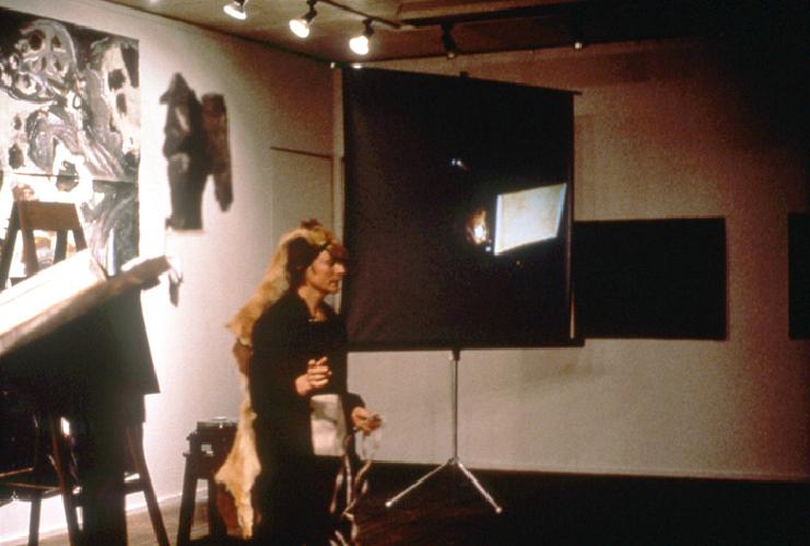 Dogwoman makes history, 1986