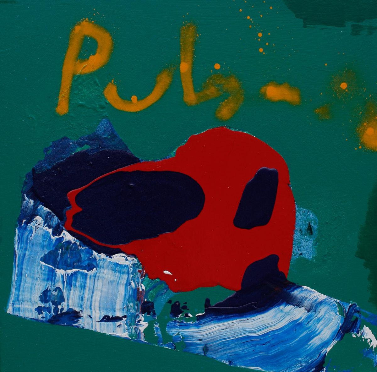 """""""Pulgasari"""", 30x30in"""