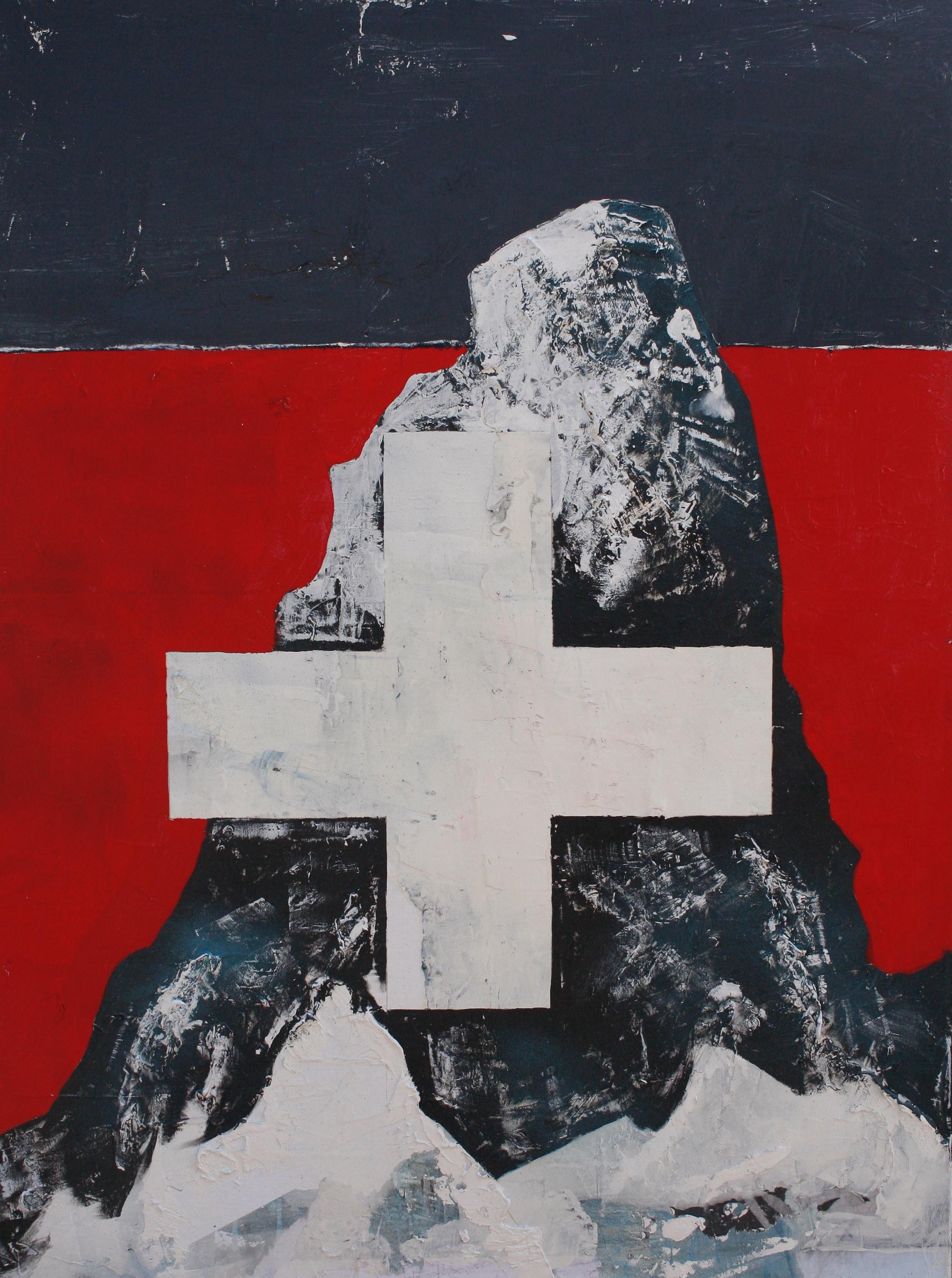 """St. Bernard"", 36x48in"