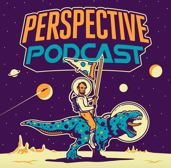 Photo via    Perspective Podcast   . Graphics and logo by    Emir Ayouni    of    Growcase   .