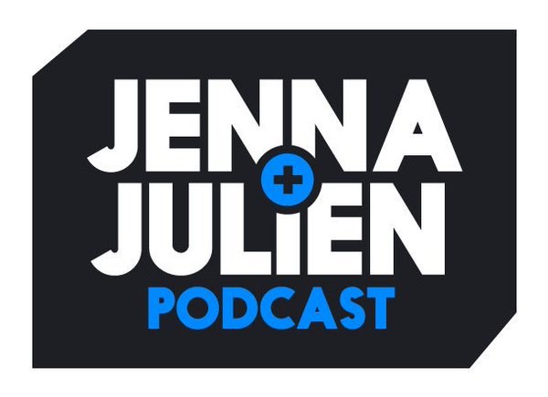 Photo via    Jenna & Julien Podcast   . Logo by    John Noob    and    Chris Melberger    of    Neat Dude   .