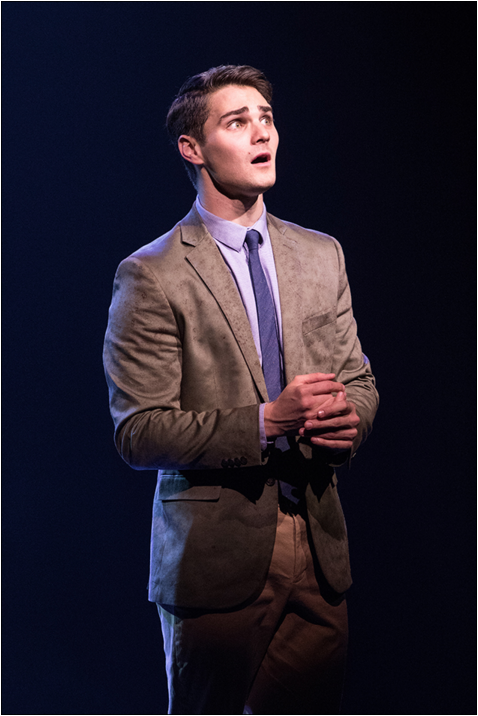Austin Colby  (Tony) in Signature Theater's WEST SIDE STORY