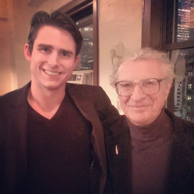 David Bryant Johnson , working with composer Sheldon Harnick