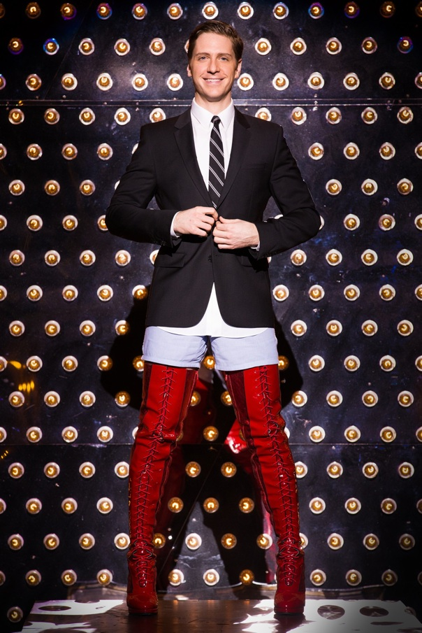 Andy Kelso  as Charlie Price in Broadway's KINKY BOOTS