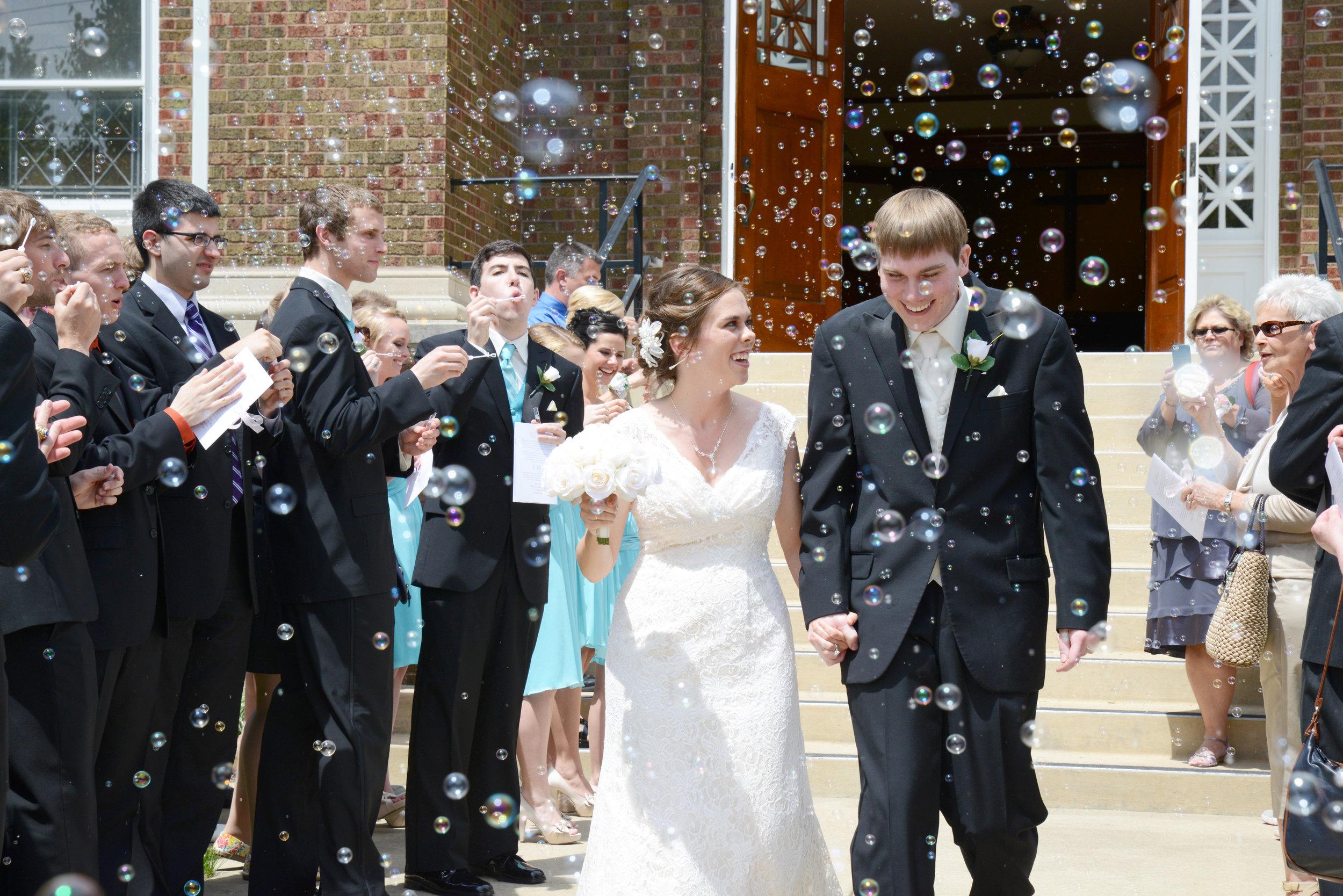 May 24, 2014: Johnie and Evan got married!