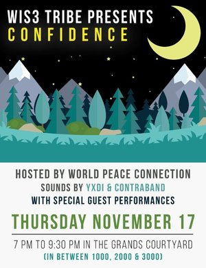 Wis3 Tribe gets World Peace Connection to help build up the students at Georgia Gwinnett College mentally and spirtually by having them host and keynote their event about confindence .   November 17, 2016