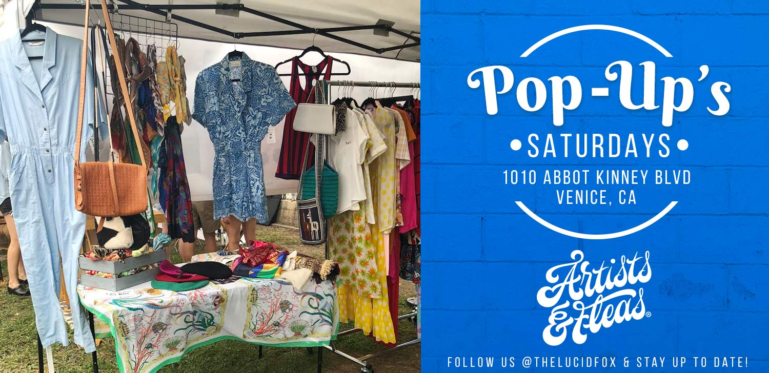 Vintage and Local Brands Venice Beach Los Angeles Pop Up